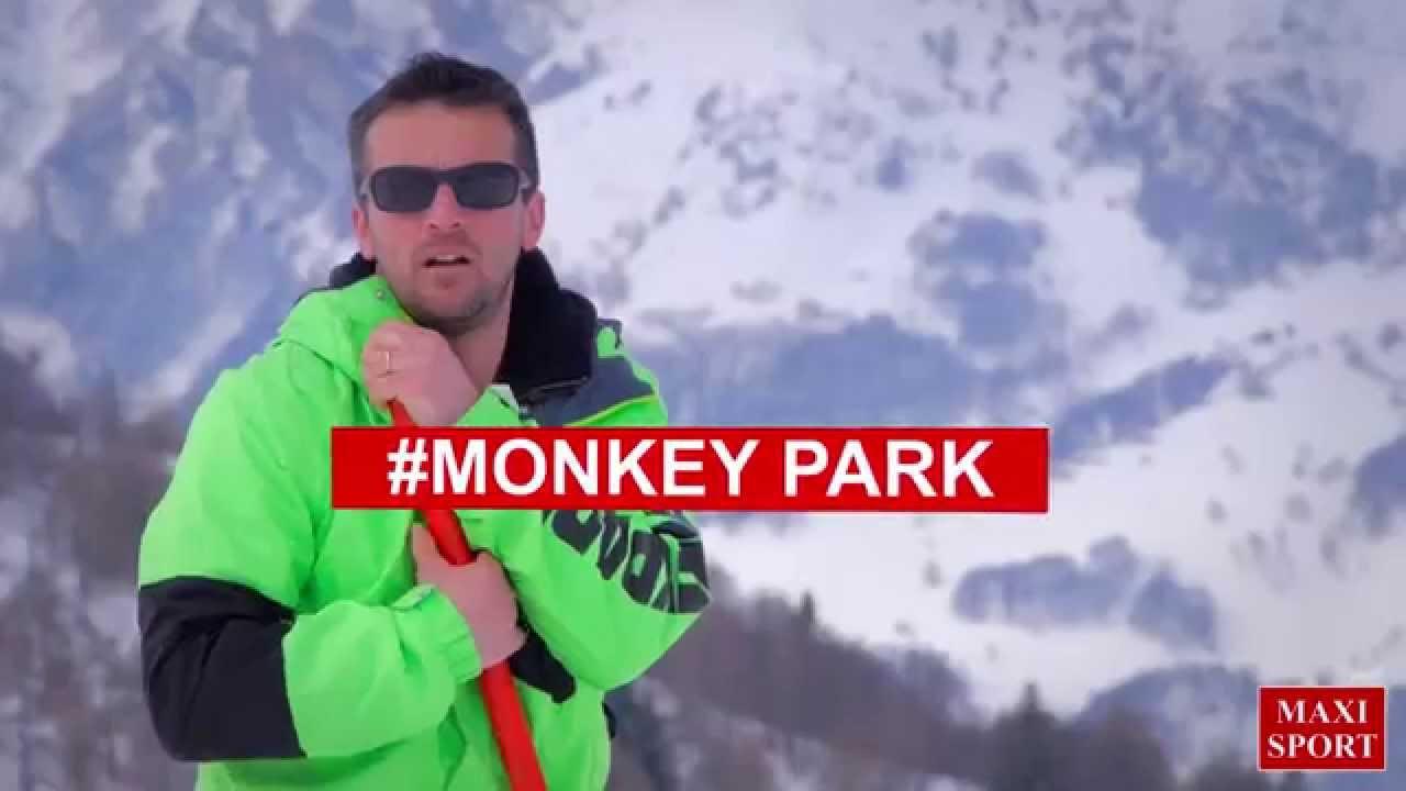 Monkey park @ piani di bobbio - sponsored by maxi sport