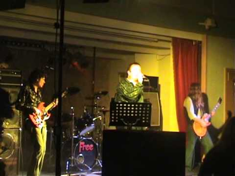 Terry Slesser and Freeway, feat Simon kirke live at Tynemouth 2007