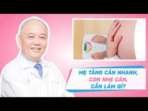 Mẹ tăng cân nhanh nhưng con nhẹ cân, mẹ bầu cần làm gì?| Chia sẻ từ chuyên gia - TTƯT Phan Văn Quý