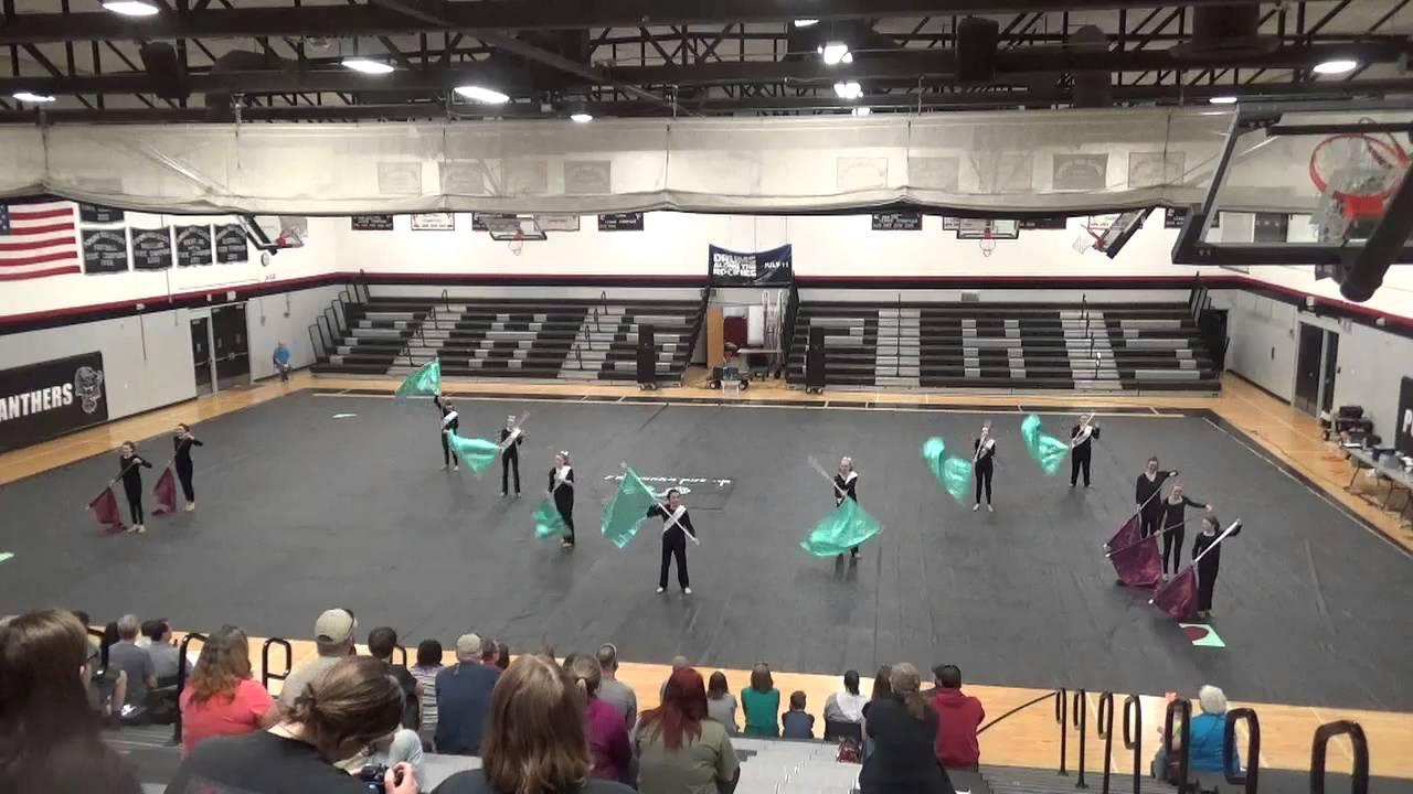 Mesa Middle School Winter Guard 31415  YouTube
