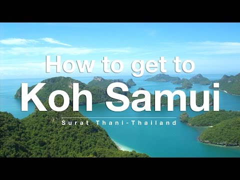 How to get to Koh Samui from Bangkok