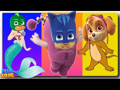 Thumbnail: Oddbods Transforms into Spiderman Finger Family for Kids Oddbods Finger Family