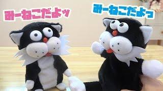 みーねこ の 散々な エイプリールフール・・ しゃべる 人形 みーねこ?!