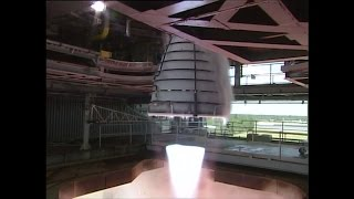 Future SLS Rocket Engine Test Fired at Full Power | RS-25 | Video