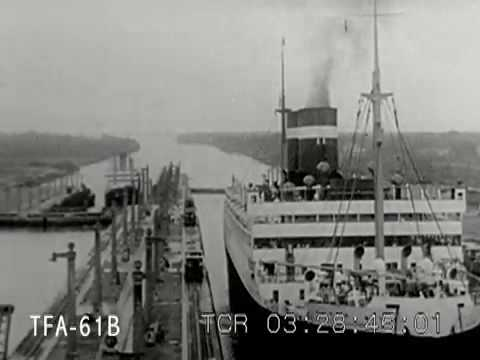From Ocean To Ocean (Thru the Panama Canal) 1939