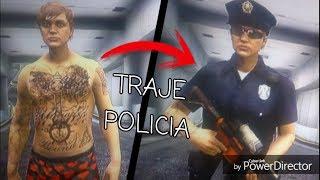 COMO CONSEGUIR EL TRAJE DE POLICÍA EN GTA V ONLINE PARA Ps3/ Xbox 360
