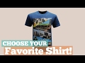 Top 12 Tees By California // Graphic T-Shirts Best Sellers