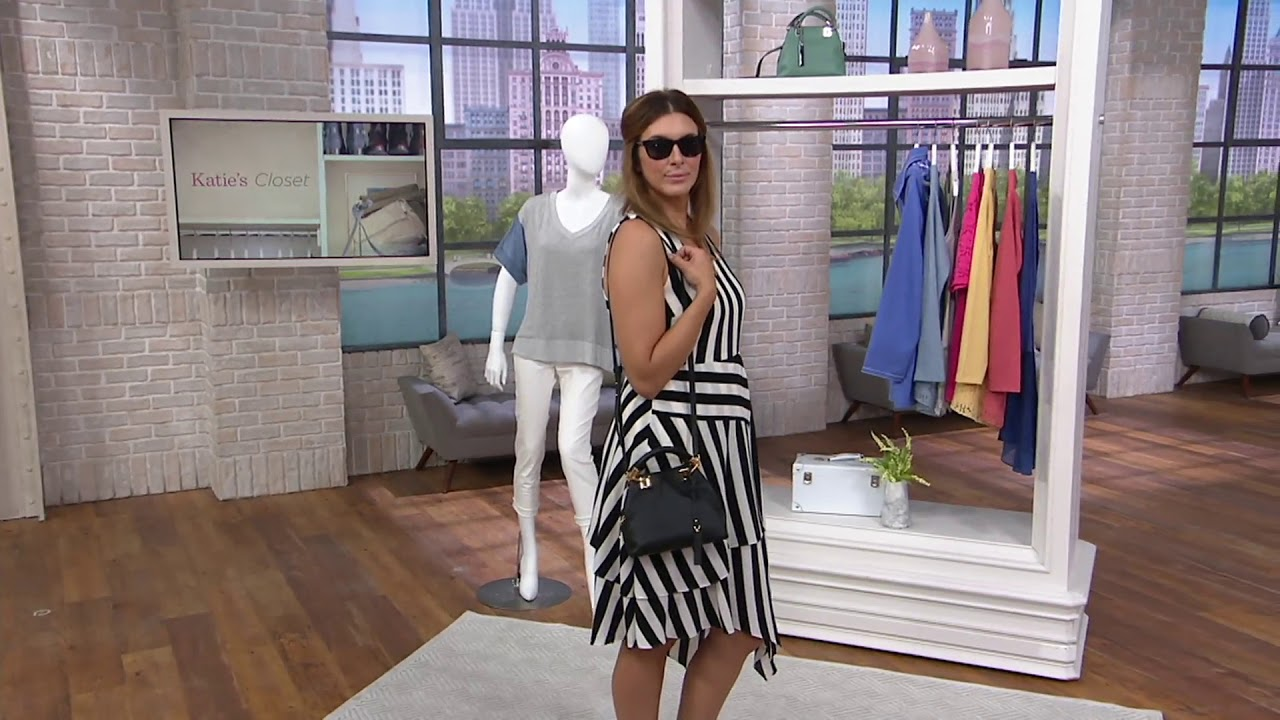 a61018d1a Vince Camuto Small Leather Satchel - Elva on QVC - YouTube