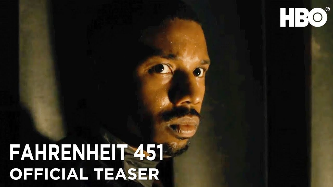 Fahrenheit 451 (2018) Official Teaser ft. Michael B. Jordan & Michael Shannon | HBO