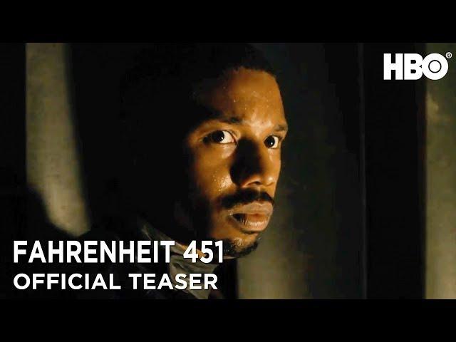 Fahrenheit 451 (2018) Official Teaser ft. Michael B. Jordan & Michael Shannon | HBO