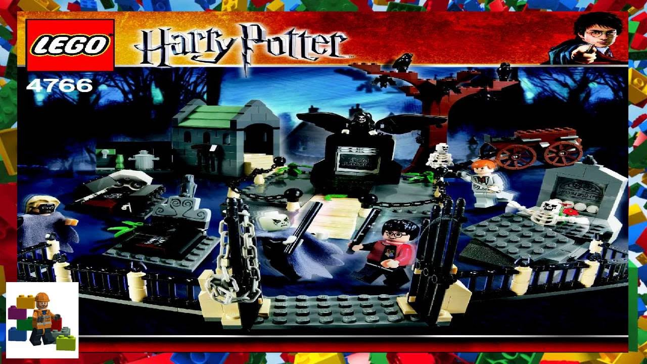 Lego Instructions Harry Potter 4766 Graveyard Duel Youtube