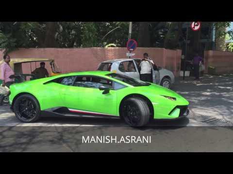 Lamborghini Huracan Performante on BANGALORE STREETS