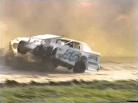93-97 Dirt Track Crash Video Highlights (Fonda, Malta, Fulton, & More)