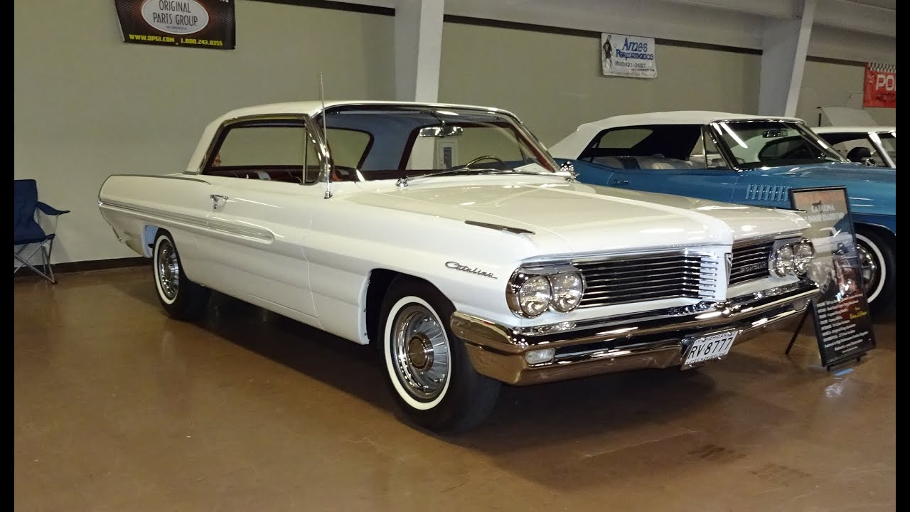 1962 pontiac catalina in cameo white with engine start up on my car story with lou costabile youtube