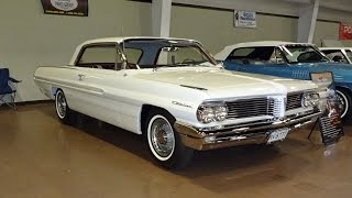 1962 Pontiac Catalina in Cameo White with Engine Start Up on My Car Story with Lou Costabile