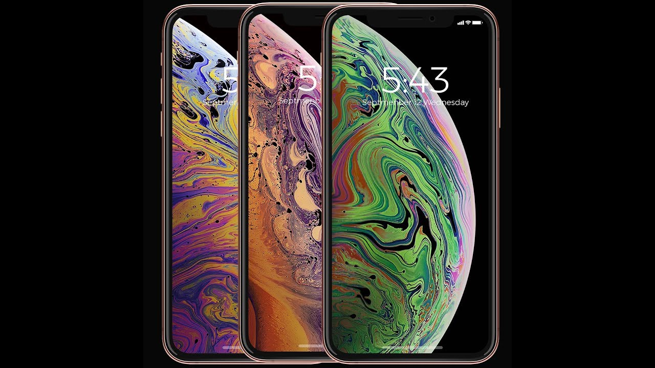 Get the iPhone XS Live Wallpapers On Any iPhone! - YouTube