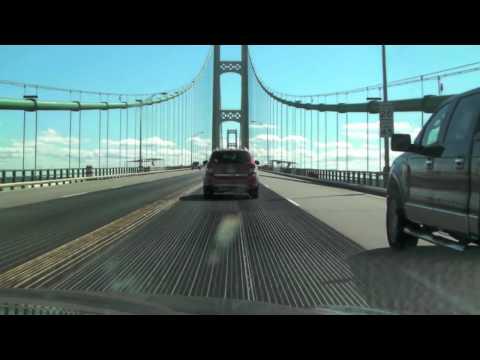 Mackinac Bridge.