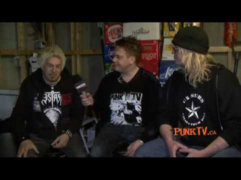 UK Subs Interview with Charlie Harper by Dixon Christie for PunkTV.ca Part 2 of 3