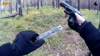 ANICS - Skif A-3000 Показательная стрельба - Свинцовые пули. Лесной тир #1