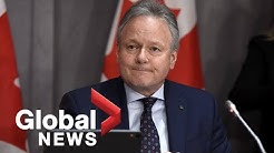 Coronavirus outbreak: Bank of Canada holds rate steady, details economic outlook amid COVID-19