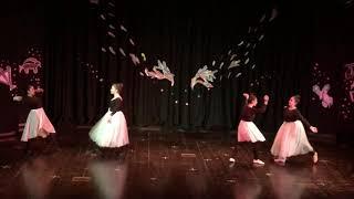 Открытый урок балетного кружка под руководством Нины Реевой, Палестина,г.Рамалла 15.11.2018