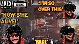 DrDisrespect BREAKS CHARACTER in RAGE After Watching his Slow-Mo Replay in Apex!