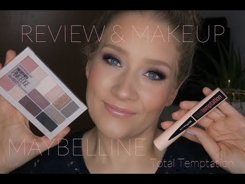 "MAYBELLINE ""TOTAL TEMPTATION"" // Review & Demo // Birthe.loves.Makeup"