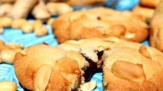 gefüllte Erdnuss-Cookies mit dem Thermomix®