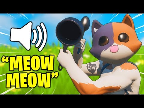 I Pretended To Be MEOWSCLES In Fortnite