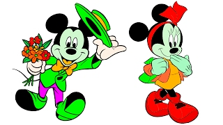 Video Mickey Minnie Mouse Baby Coloring Page Compilation download MP3, 3GP, MP4, WEBM, AVI, FLV Juli 2018