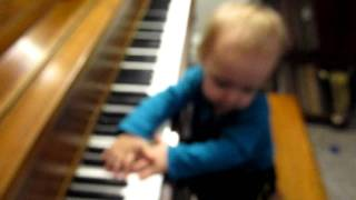 Sadie playing the piano part 1 1-13-12.MOV Thumbnail