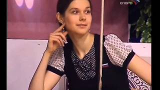 Русский бильярд чемпионов. Кузьмин, Луппова - Паламарь, Иванова