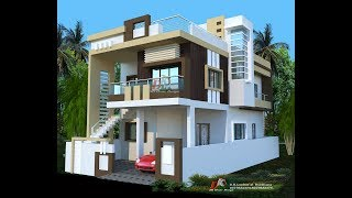 Modern House Design With Floor Plans And Small Walk Through