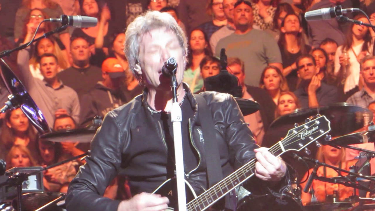Bon jovi who says you can 39 t go home live madison square garden youtube for Bon jovi madison square garden