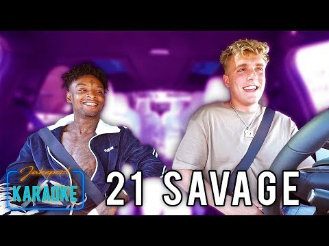 Thumbnail: 21 Savage Carpool Karaoke WITH Jake Paul