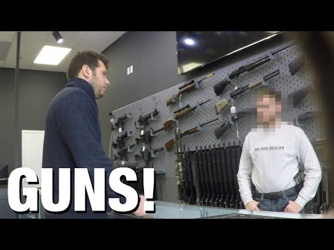 "HIDDEN CAM: ""Gun Show Loophole"" Exposed!"