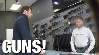 "HIDDEN CAM: ""Gun Show Loophole"" Exposed!"