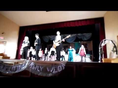 Athol High School, The Wedding Singer, opening number, 2015