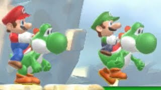 New Super Mario Bros U - Boost Rush Mode #2 (2 Players)