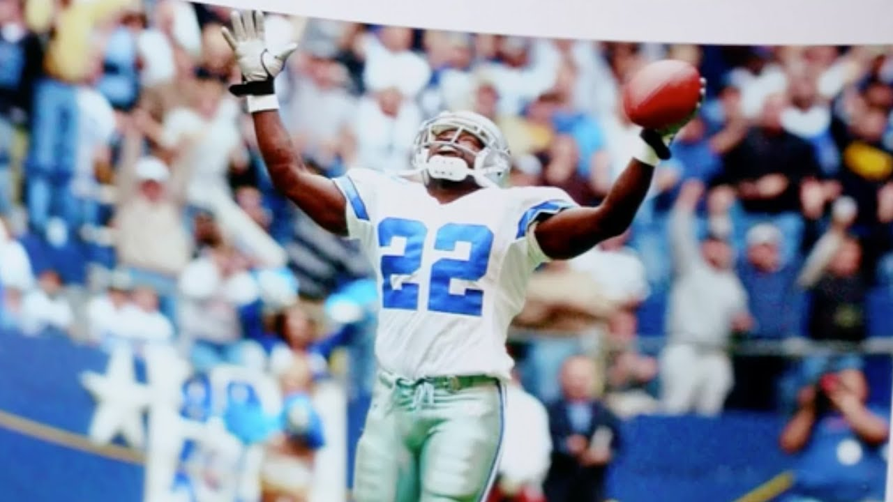 huge selection of f0da3 1d139 Emmitt Smith Talks Celebrations, NFL Career and Life After Football |  Photographic Memories