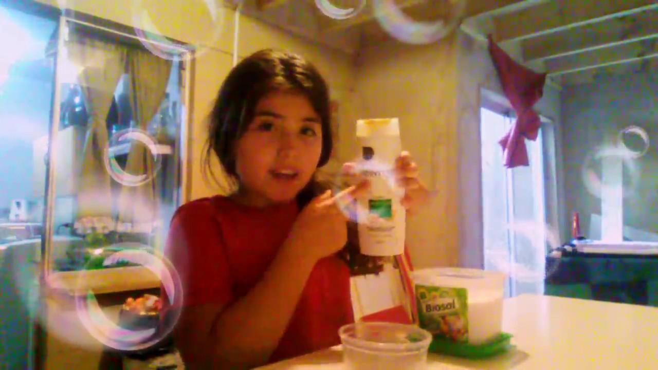 Como Hacer Slime Fácil Con Shampoo Sal Harina