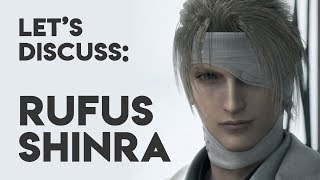 Cover images Rufus Shinra Explained | Final Fantasy VII Lore