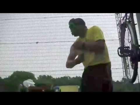 Incredible Hulk Visits Wythenshawe, South Manchester, UK