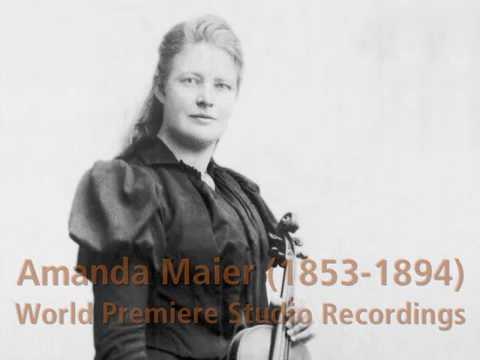 Amanda Maier-Röntgen: Violin Concerto - Piano Quartet - Swedish Tunes & Dances MIX