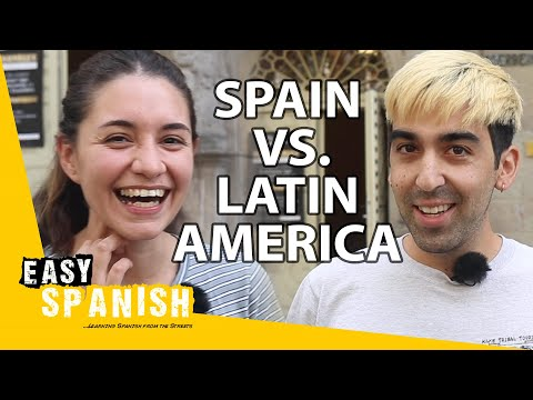 5 Main Differences Between Spanish from Latin America & Spain | Easy Spanish 203