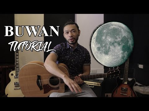 Juan Karlos - BUWAN - EASY CHORDS Guitar Tutorial for BEGINNERS with TABS
