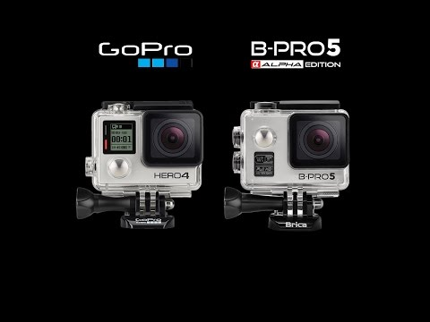 Brica B-Pro5 Alpha VS Gopro Hero4 Silver ( DAY & NIGHT Test)