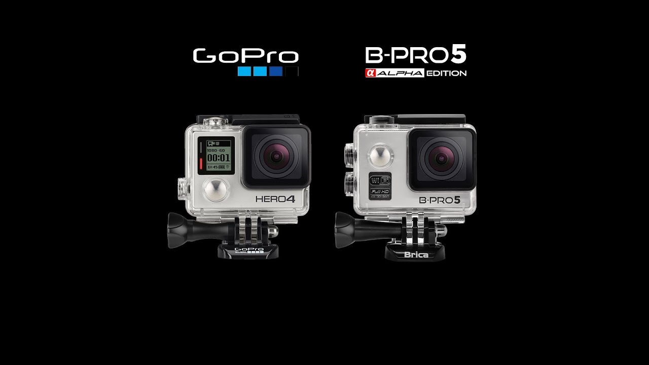 Brica BPro5 Alpha VS Gopro Hero4 Silver  DAY amp; NIGHT Test  YouTube