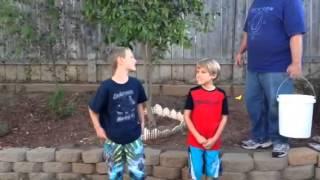 Noah and Jacob ALS ice bucket challenge