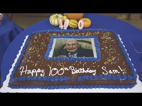 Sam Robertson's 100th Birthday Celebration!